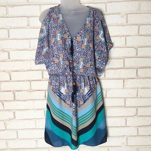 Laundry by Design Cold Shoulder Mini Dress Sz 8